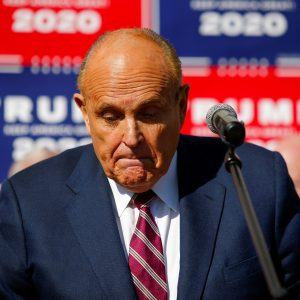 Rudy Giuliani suspended from practicing law due to Trump statements